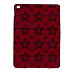 Star Red Black Line Space iPad Air 2 Hardshell Cases