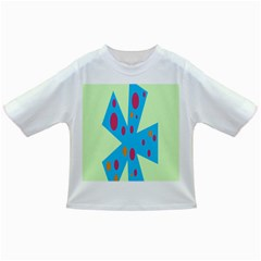 Starburst Shapes Large Circle Green Blue Red Orange Circle Infant/Toddler T-Shirts