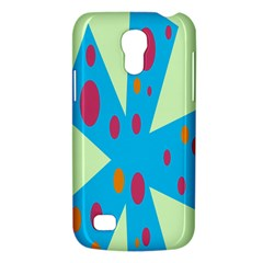 Starburst Shapes Large Circle Green Blue Red Orange Circle Galaxy S4 Mini