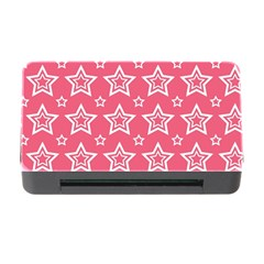Star Pink White Line Space Memory Card Reader with CF