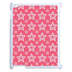 Star Pink White Line Space Apple Ipad 2 Case (white)