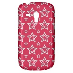 Star Pink White Line Space Galaxy S3 Mini