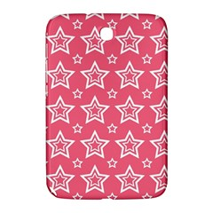 Star Pink White Line Space Samsung Galaxy Note 8.0 N5100 Hardshell Case