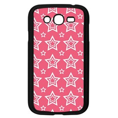 Star Pink White Line Space Samsung Galaxy Grand DUOS I9082 Case (Black)
