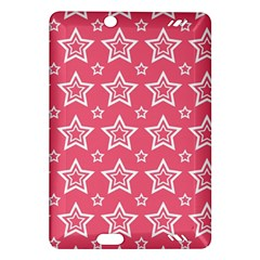 Star Pink White Line Space Amazon Kindle Fire HD (2013) Hardshell Case