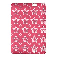 Star Pink White Line Space Kindle Fire HDX 8.9  Hardshell Case