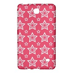 Star Pink White Line Space Samsung Galaxy Tab 4 (7 ) Hardshell Case