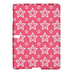 Star Pink White Line Space Samsung Galaxy Tab S (10.5 ) Hardshell Case