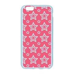Star Pink White Line Space Apple Seamless iPhone 6/6S Case (Color)