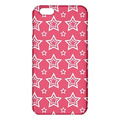 Star Pink White Line Space iPhone 6 Plus/6S Plus TPU Case