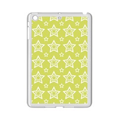 Star Yellow White Line Space iPad Mini 2 Enamel Coated Cases