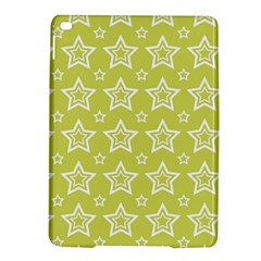 Star Yellow White Line Space iPad Air 2 Hardshell Cases