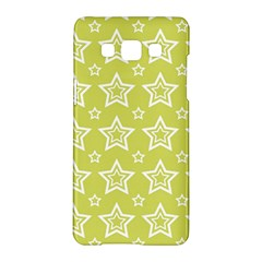 Star Yellow White Line Space Samsung Galaxy A5 Hardshell Case