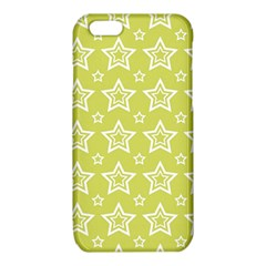Star Yellow White Line Space iPhone 6/6S TPU Case