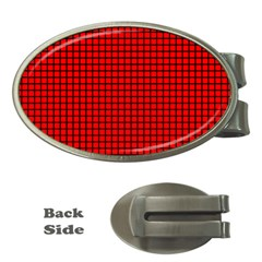 Red And Black Money Clips (Oval)