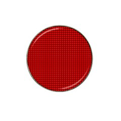 Red And Black Hat Clip Ball Marker