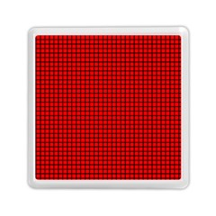 Red And Black Memory Card Reader (Square)