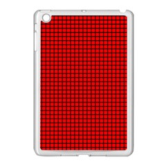 Red And Black Apple iPad Mini Case (White)