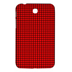 Red And Black Samsung Galaxy Tab 3 (7 ) P3200 Hardshell Case
