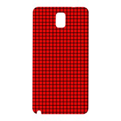 Red And Black Samsung Galaxy Note 3 N9005 Hardshell Back Case