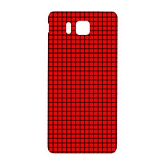 Red And Black Samsung Galaxy Alpha Hardshell Back Case