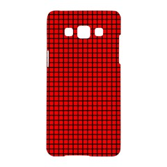Red And Black Samsung Galaxy A5 Hardshell Case