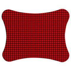 Red And Black Jigsaw Puzzle Photo Stand (Bow)