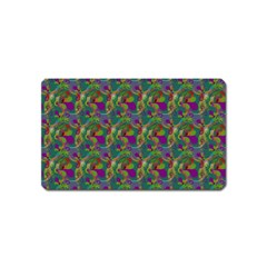 Pattern Abstract Paisley Swirls Magnet (Name Card)