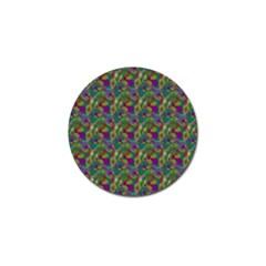Pattern Abstract Paisley Swirls Golf Ball Marker