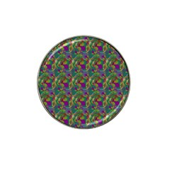 Pattern Abstract Paisley Swirls Hat Clip Ball Marker