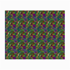 Pattern Abstract Paisley Swirls Small Glasses Cloth