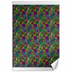 Pattern Abstract Paisley Swirls Canvas 20  X 30