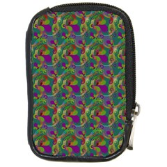 Pattern Abstract Paisley Swirls Compact Camera Cases