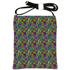 Pattern Abstract Paisley Swirls Shoulder Sling Bags