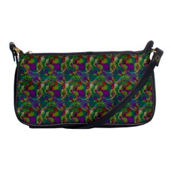 Pattern Abstract Paisley Swirls Shoulder Clutch Bags