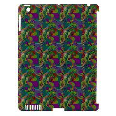 Pattern Abstract Paisley Swirls Apple Ipad 3/4 Hardshell Case (compatible With Smart Cover)