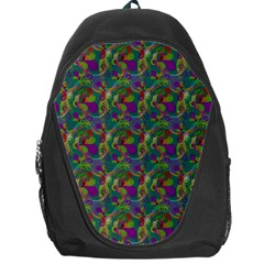 Pattern Abstract Paisley Swirls Backpack Bag