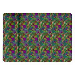 Pattern Abstract Paisley Swirls Samsung Galaxy Tab 10.1  P7500 Flip Case