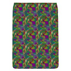 Pattern Abstract Paisley Swirls Flap Covers (S)