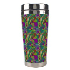 Pattern Abstract Paisley Swirls Stainless Steel Travel Tumblers