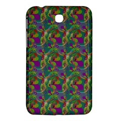 Pattern Abstract Paisley Swirls Samsung Galaxy Tab 3 (7 ) P3200 Hardshell Case
