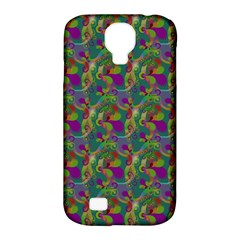 Pattern Abstract Paisley Swirls Samsung Galaxy S4 Classic Hardshell Case (PC+Silicone)