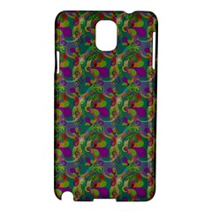 Pattern Abstract Paisley Swirls Samsung Galaxy Note 3 N9005 Hardshell Case
