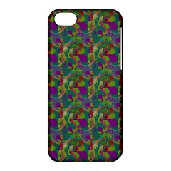 Pattern Abstract Paisley Swirls Apple iPhone 5C Hardshell Case