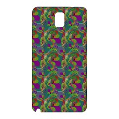 Pattern Abstract Paisley Swirls Samsung Galaxy Note 3 N9005 Hardshell Back Case