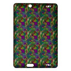 Pattern Abstract Paisley Swirls Amazon Kindle Fire HD (2013) Hardshell Case
