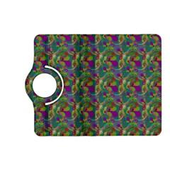 Pattern Abstract Paisley Swirls Kindle Fire HD (2013) Flip 360 Case