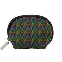 Pattern Abstract Paisley Swirls Accessory Pouches (Small)