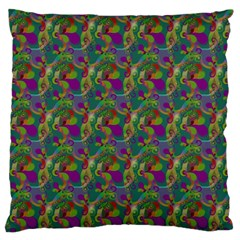 Pattern Abstract Paisley Swirls Standard Flano Cushion Case (Two Sides)
