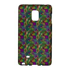 Pattern Abstract Paisley Swirls Galaxy Note Edge